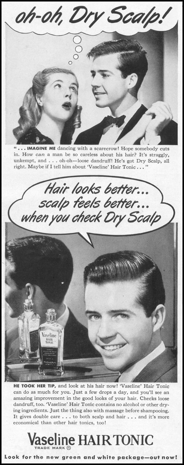 VASELINE HAIR TONIC LIFE 10/11/1948 p. 24