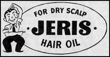 JERIS HAIR OIL SATURDAY EVENING POST 10/06/1945 p. 106