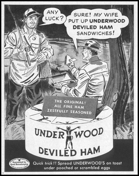 UNDERWOOD DEVILED HAM LIFE 04/17/1950 p. 68