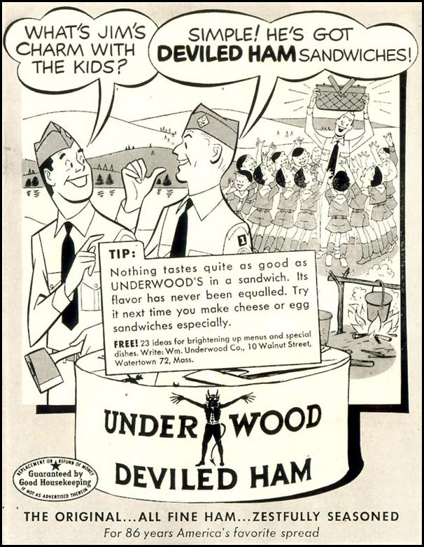 UNDERWOOD DEVILED HAM LIFE 07/06/1953 p. 88