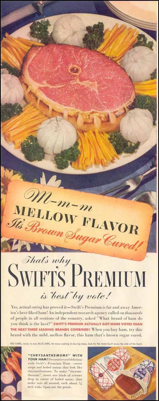 SWIFT'S PREMIUM HAM LIFE 11/30/1942