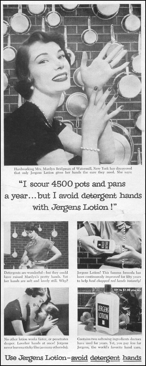JERGENS LOTION LIFE 07/12/1954 p. 78