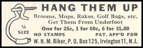 RIKER HANGERS SATURDAY EVENING POST 07/23/1955 p. 75
