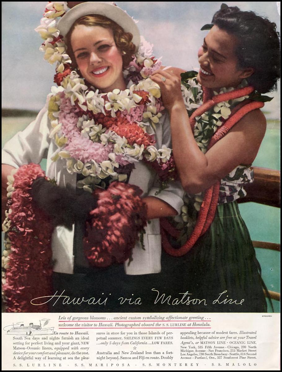 HAWAIIAN VACATION GOOD HOUSEKEEPING 12/01/1934