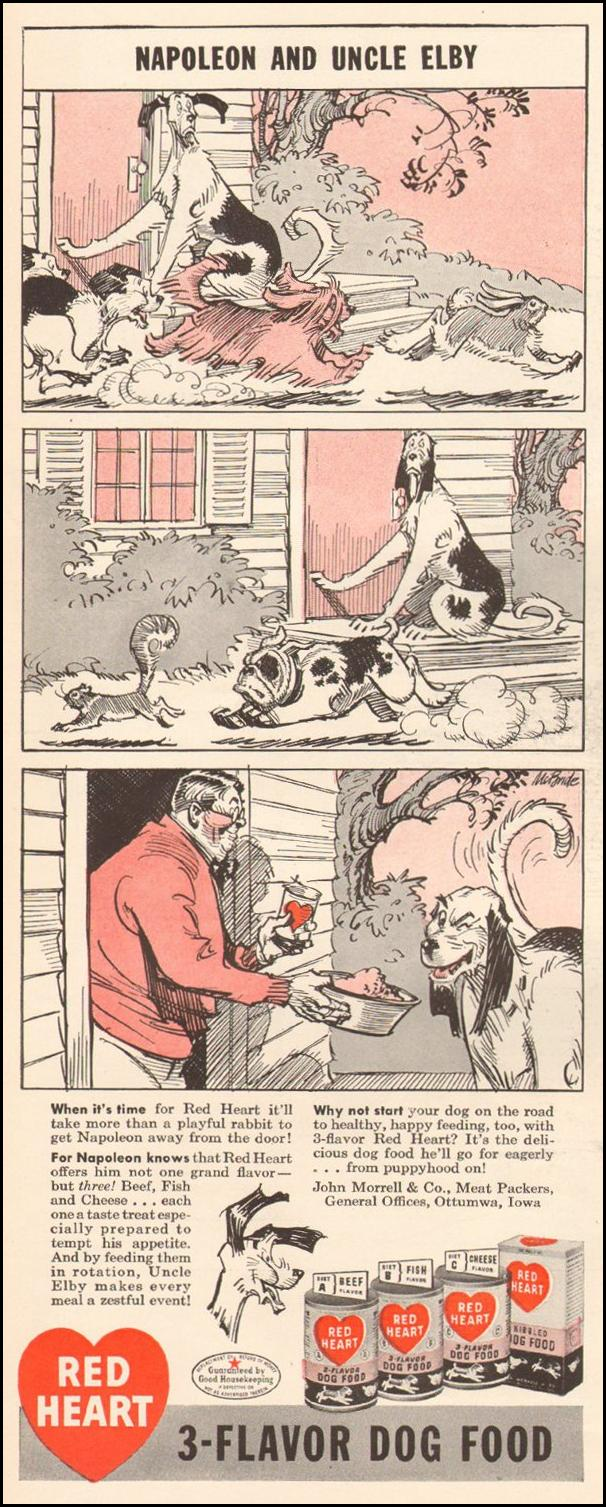 RED HEART DOG FOOD LIFE 11/25/1946 p. 88