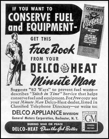 DELCO APPLIANCES TIME 12/28/1942 p. 80