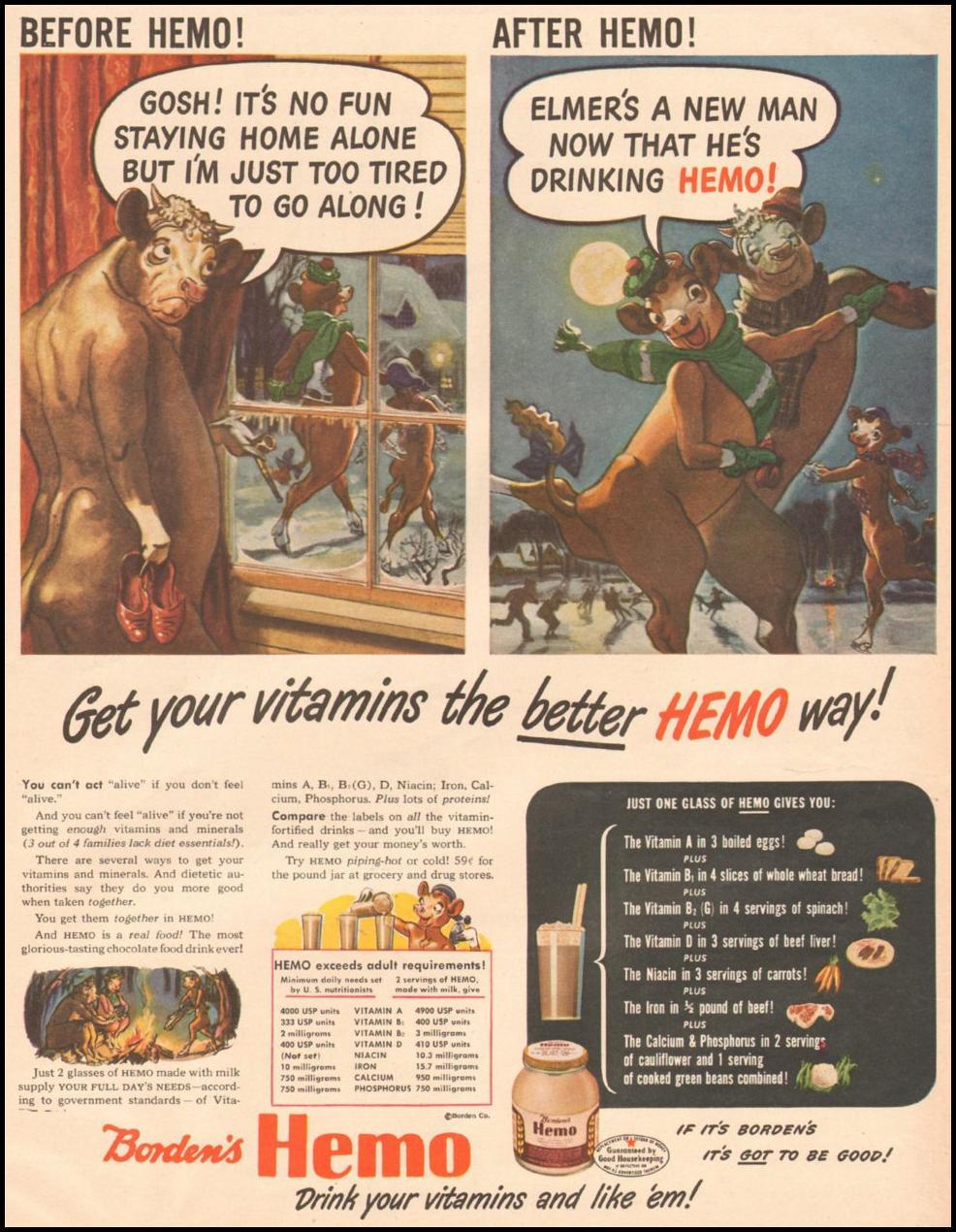 BORDEN'S HEMO LIFE 03/12/1945