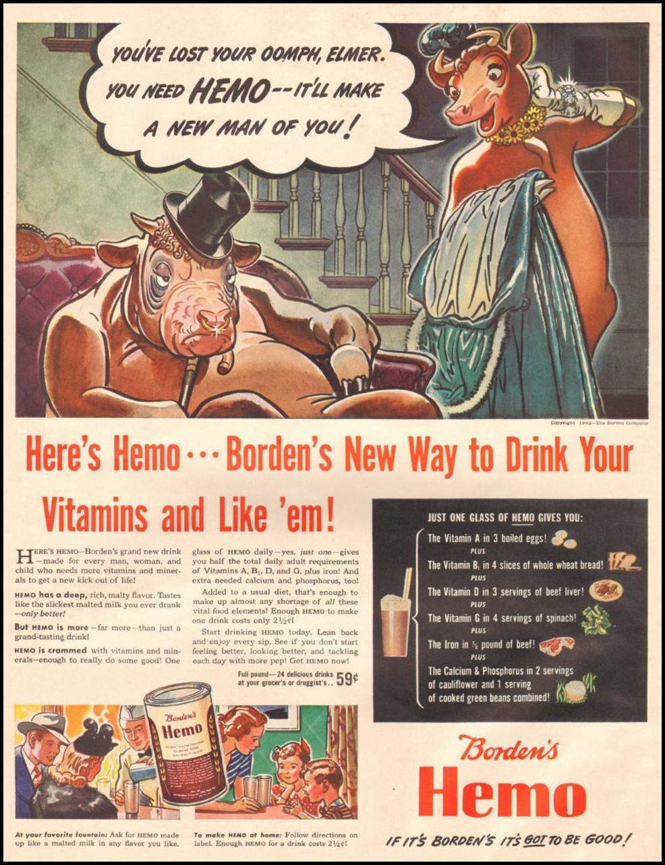 BORDEN'S HEMO LIFE 06/22/1942 p. 58