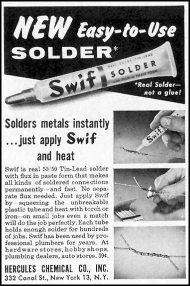 SWIF SOLDER SATURDAY EVENING POST 07/23/1955 p. 78