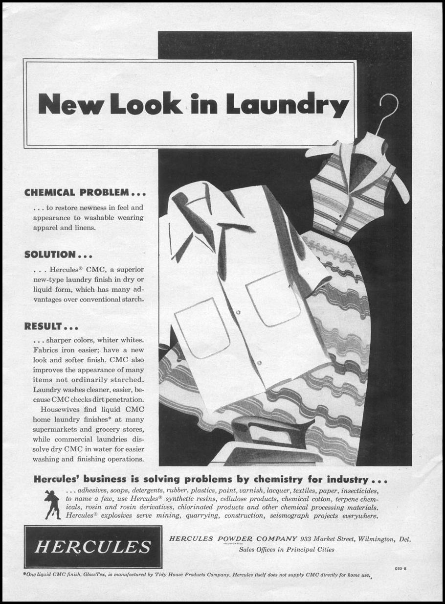 HERCULES CMC LAUNDRY FINISH