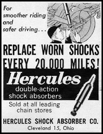 HERCULES DOUBLE-ACTION SHOCK ABSORBERS LIFE 10/05/1959 p. 162