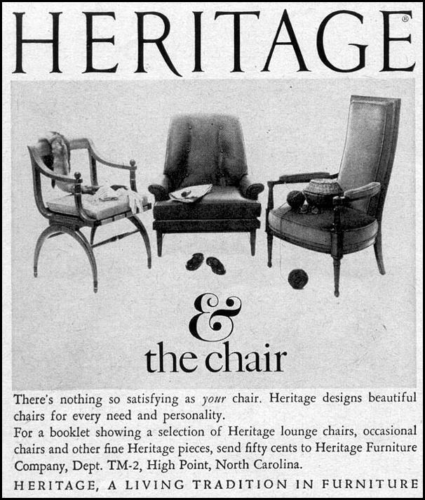 HERITAGE FURNITURE TIME 02/23/1962 p. 16