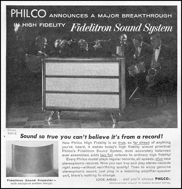 PHILCO FIDELITRON SOUND SYSTEM TIME 09/15/1958 p. 8