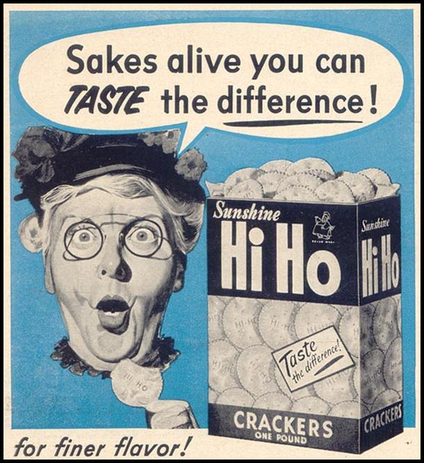 HI HO CRACKERS WOMAN'S DAY 03/01/1954 p. 160