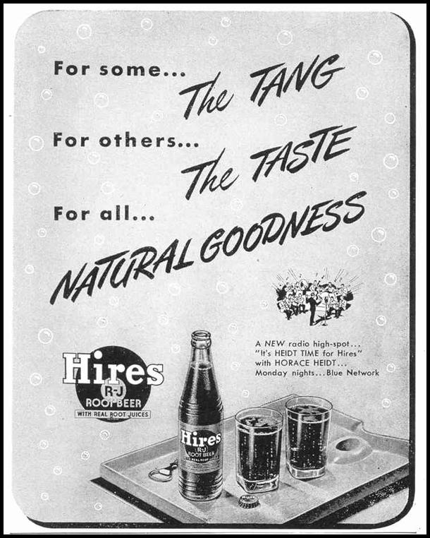 HIRES ROOT BEER LIFE 02/14/1944 p. 100