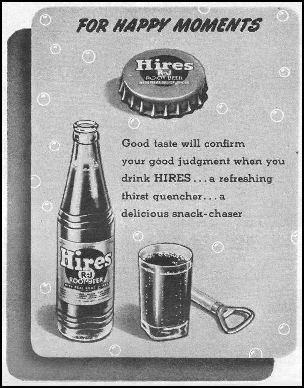 HIRES ROOT BEER LIFE 03/12/1945 p. 113