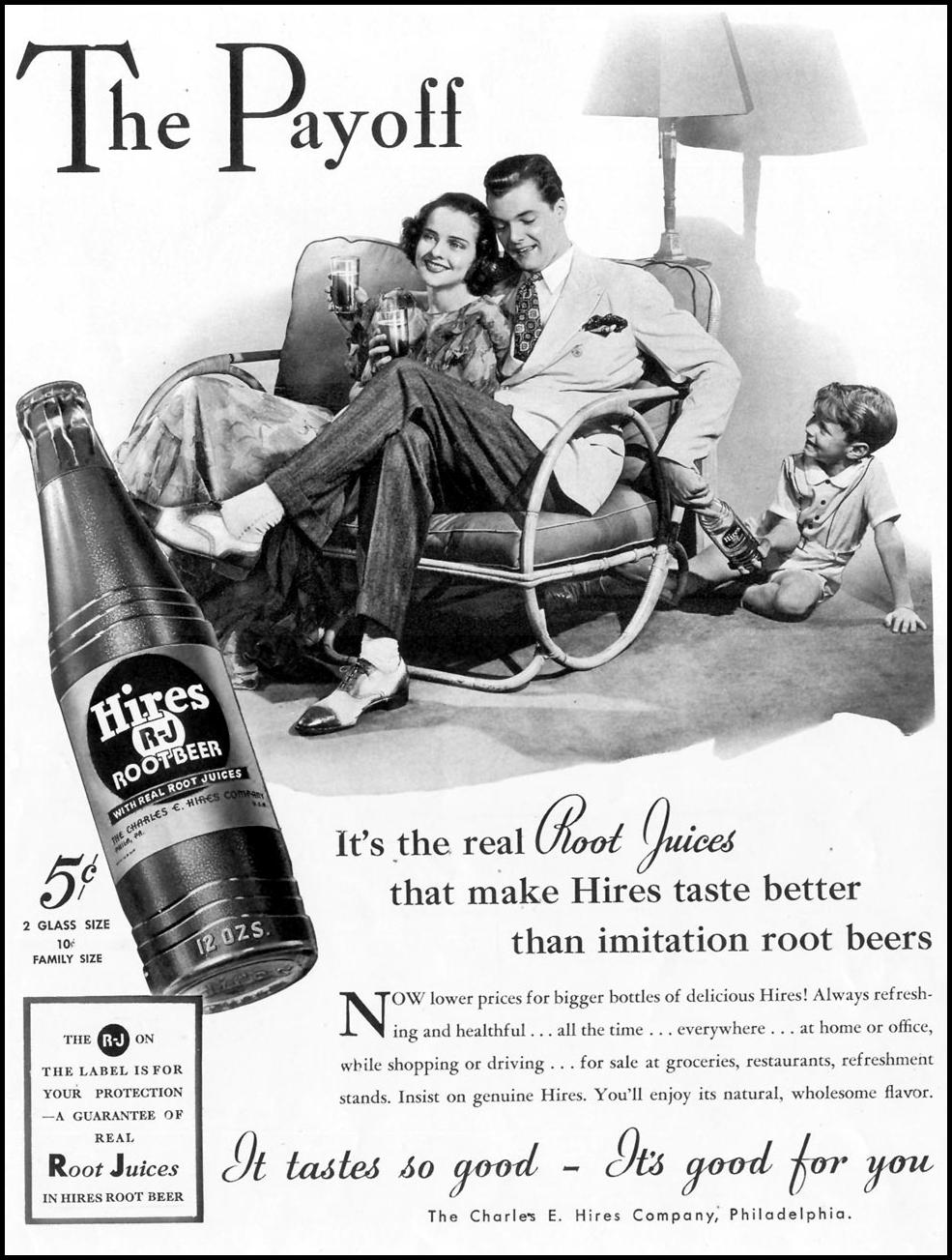 HIRES ROOT BEER LIFE 08/02/1937 p. 4