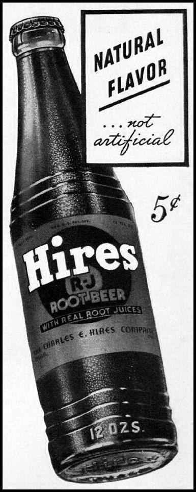 HIRES ROOT BEER LIFE 08/04/1941 p. 84