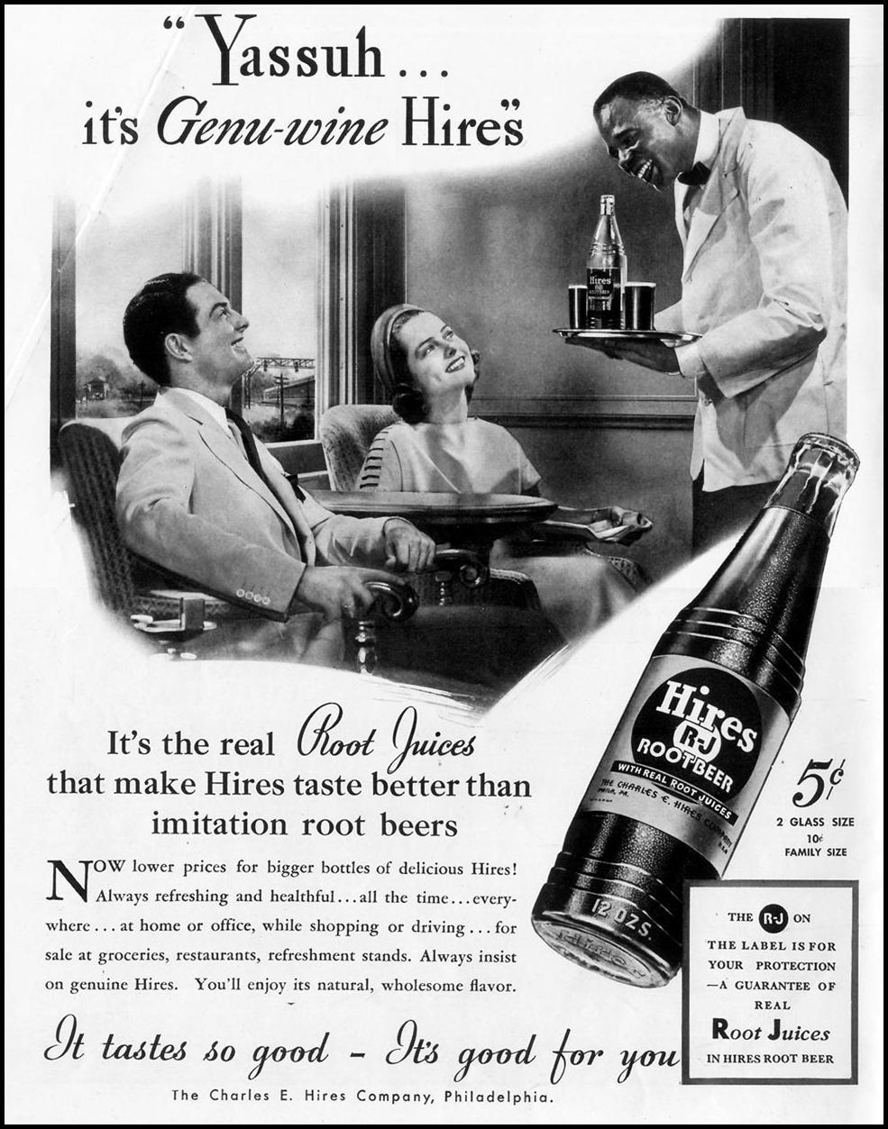HIRES ROOT BEER LIFE 09/06/1937 p. 118
