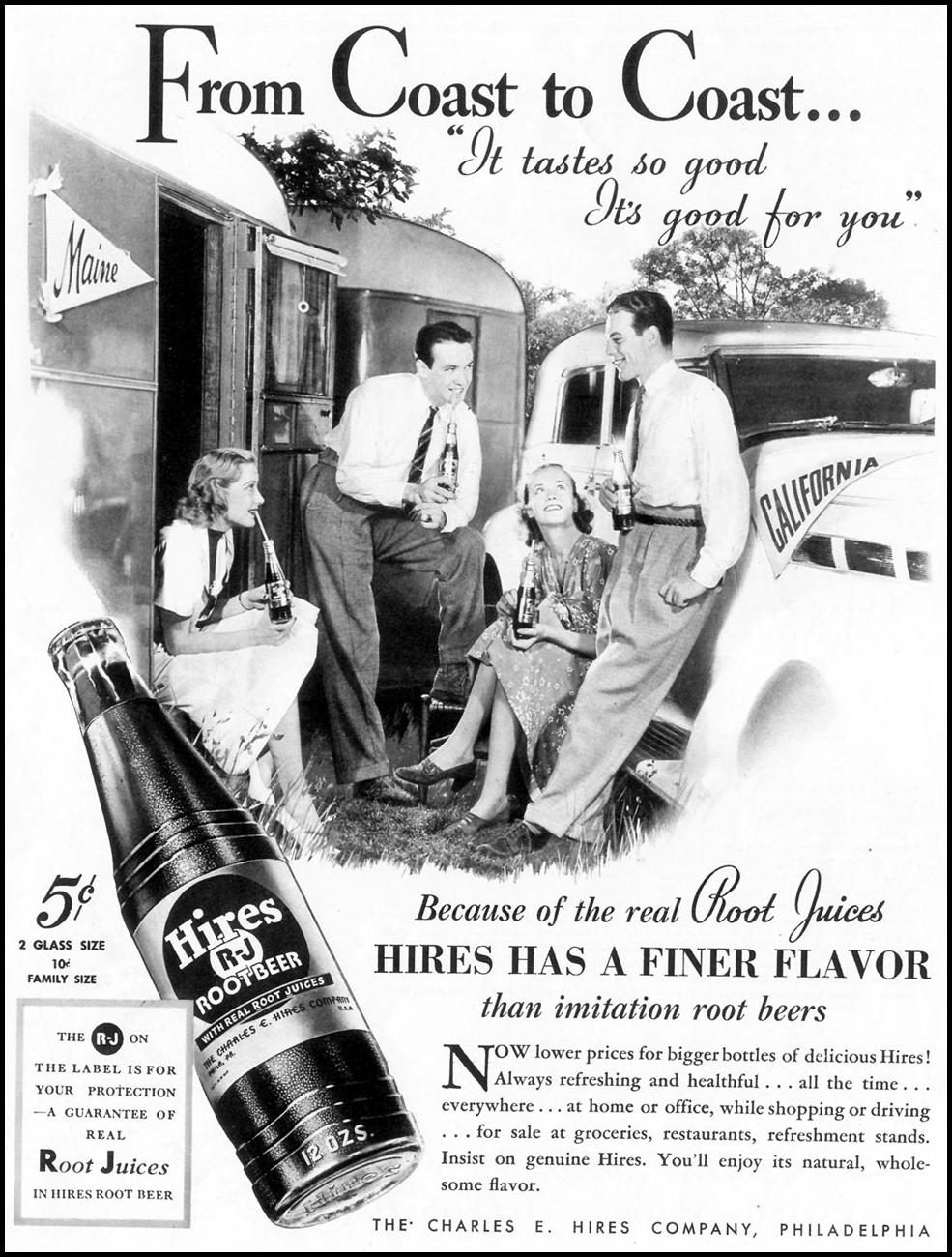HIRES ROOT BEER LIFE 09/13/1937 p. 5