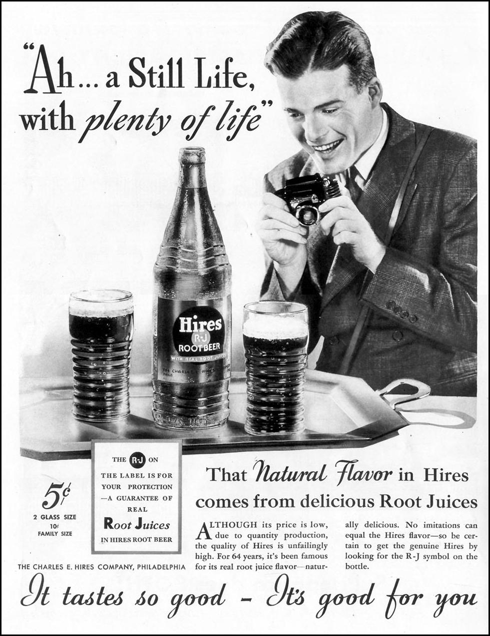 HIRES ROOT BEER LIFE 09/20/1937 p. 2