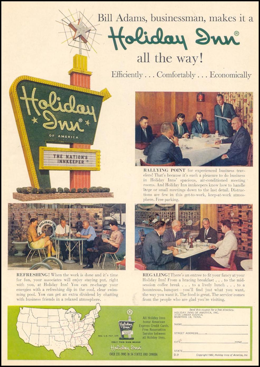 HOLIDAY INN MOTELS TIME 02/23/1962 p. 75