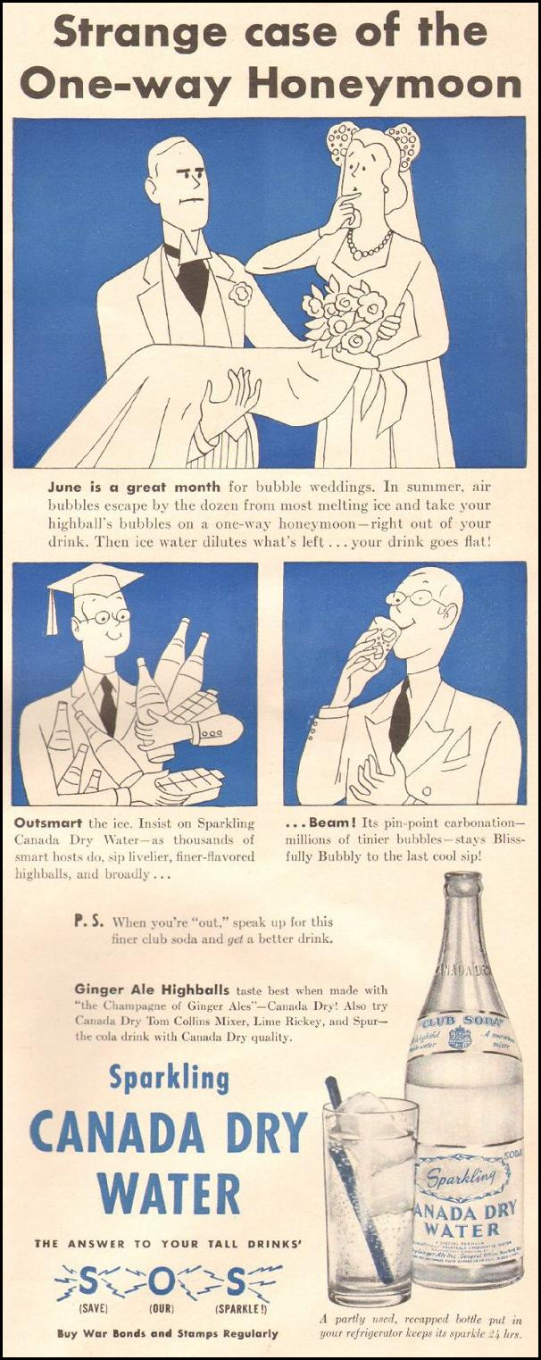 SPARKLING CANADA DRY WATER LIFE 06/22/1942 p. 53