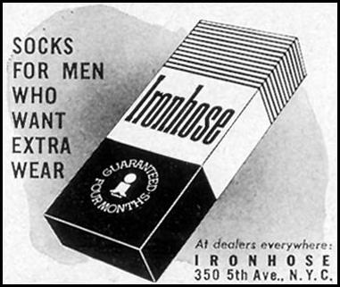 IRONHOSE SOCKS LIFE 09/07/1953 p. 116