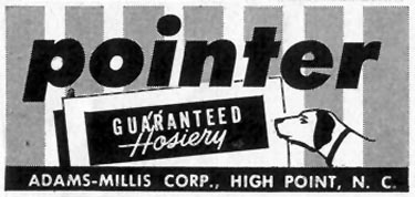 POINTER HOSIERY SATURDAY EVENING POST 07/23/1955 p. 75