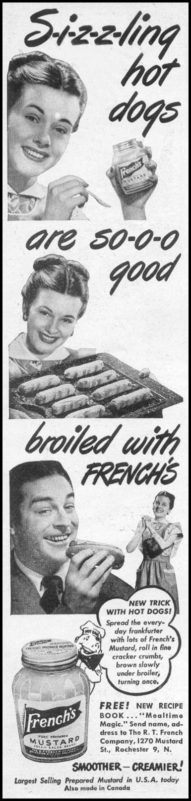 FRENCH'S PREPARED MUSTARD WOMAN'S DAY 06/01/1946 p. 6
