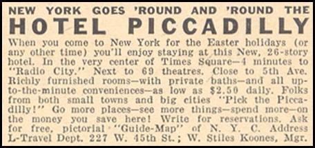 HOTEL PICCADILLY LIBERTY 04/11/1936 p. 43