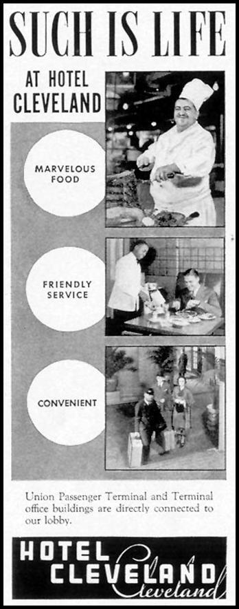 HOTEL CLEVELAND LIFE 08/02/1937 p. 66