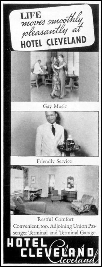 HOTEL CLEVELAND LIFE 10/04/1937 p. 132