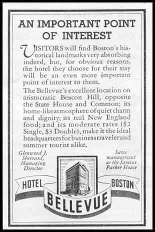 HOTEL BELLVUE NEWSWEEK 05/04/1935 p. 39
