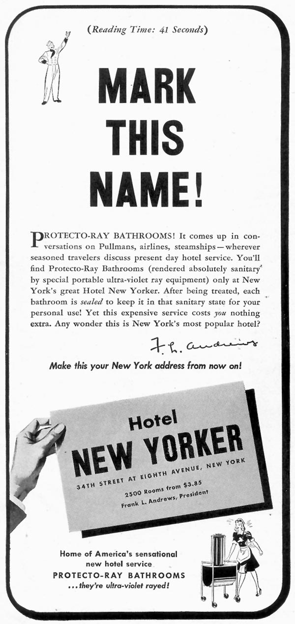 HOTEL NEW YORKER TIME 08/17/1942 p. 6