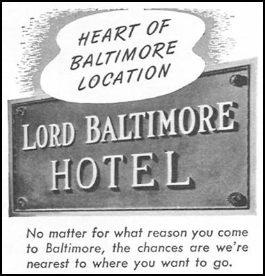 LORD BALTIMORE HOTEL TIME 06/08/1953 p. 56