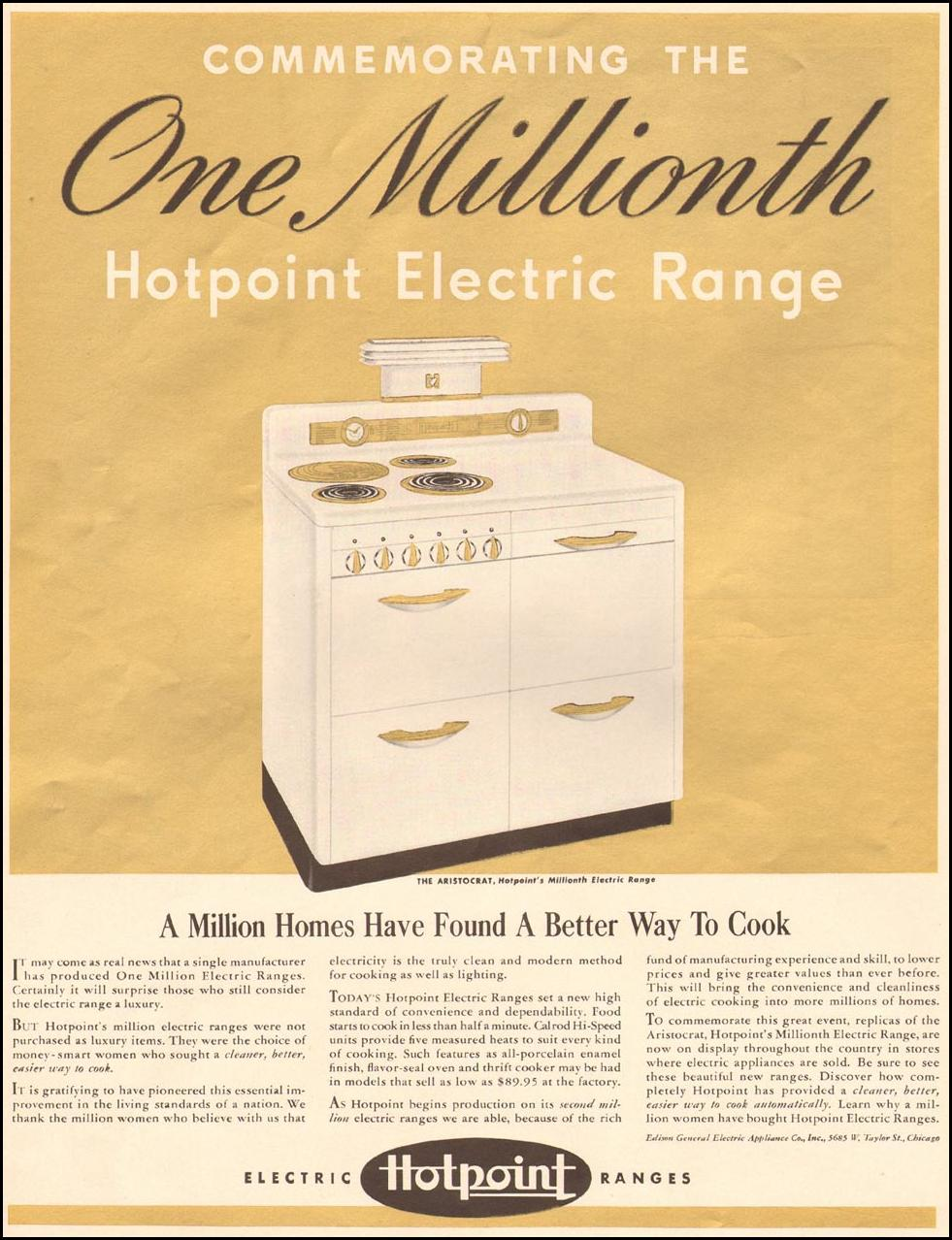 HOTPOINT ELECTRIC RANGES LIFE 04/28/1941 p. 88