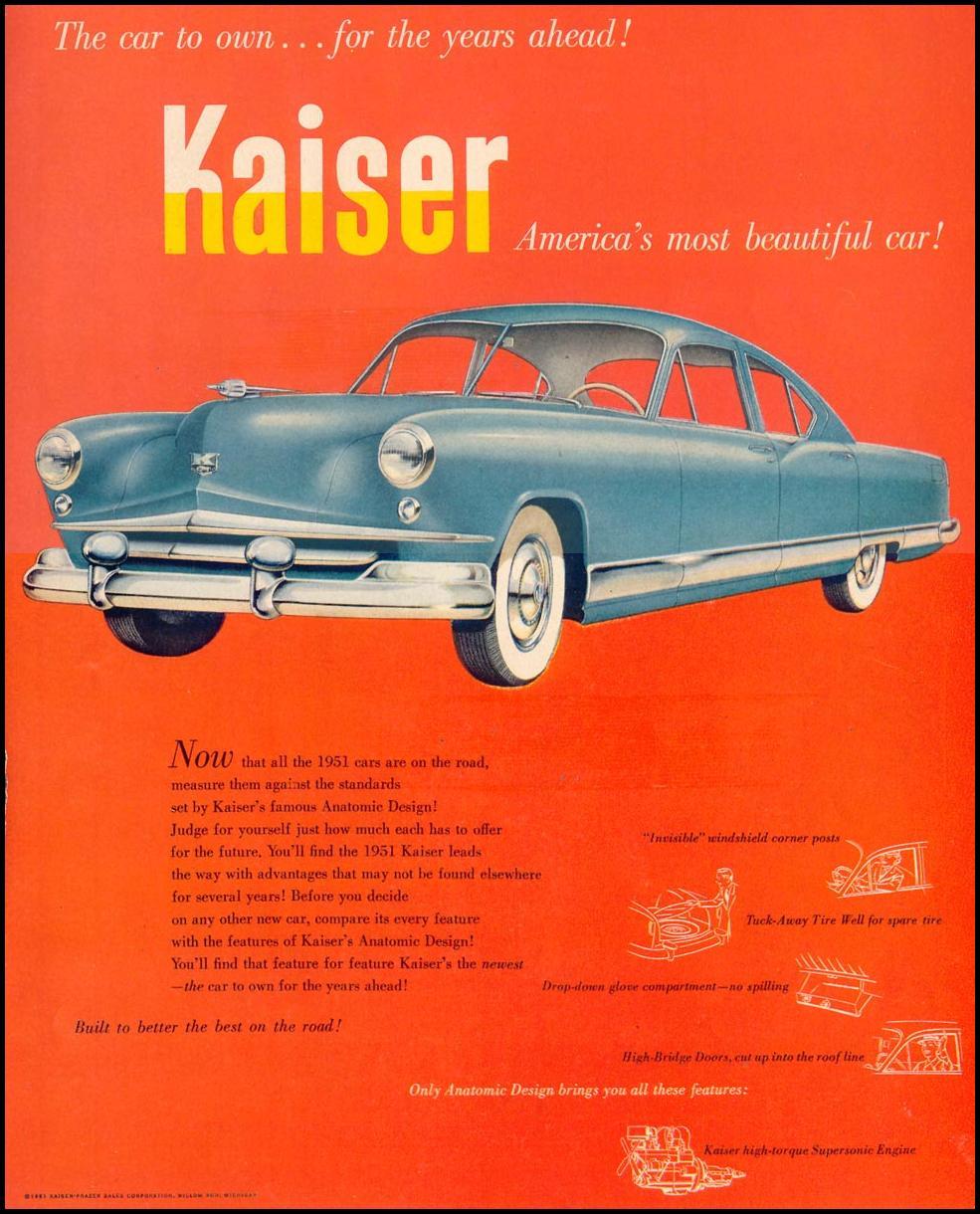KAISER AUTOMOBILES LIFE 07/30/1951