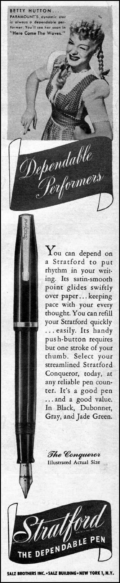 STRATFORD PENS LIFE 03/12/1945 p. 4