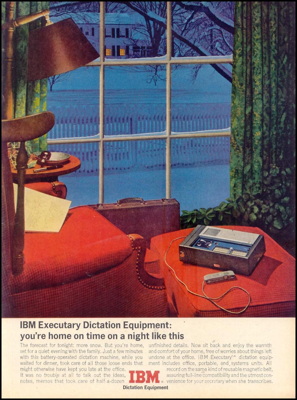 IBM EXECUTARY DICTATION EQUIPMENT TIME 02/01/1963 p. 31