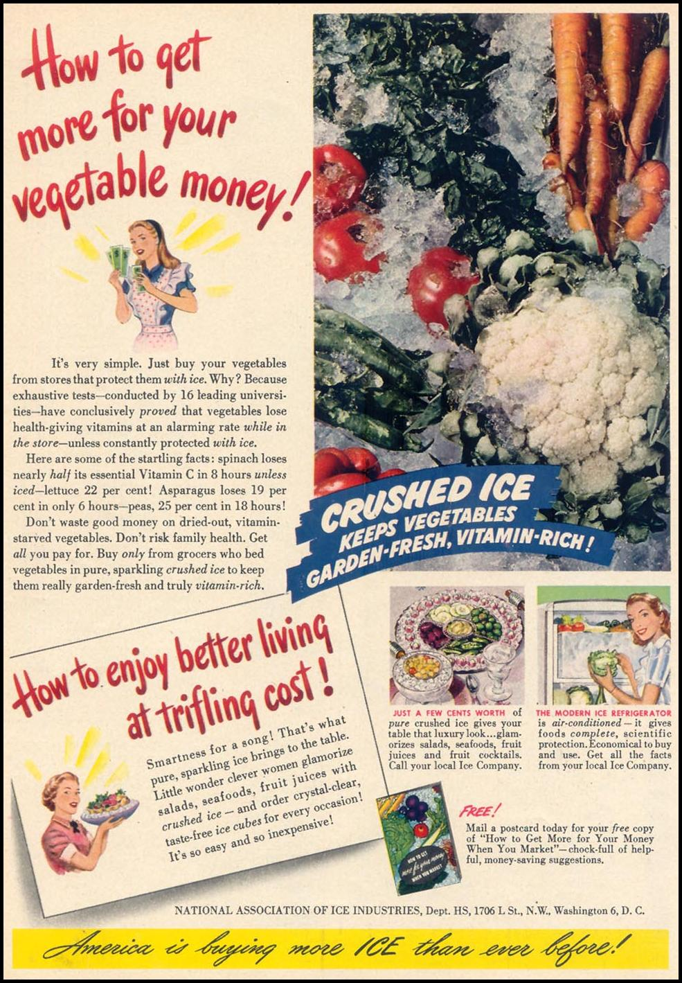CRUSHED ICE WOMAN'S DAY 09/01/1948 p. 64
