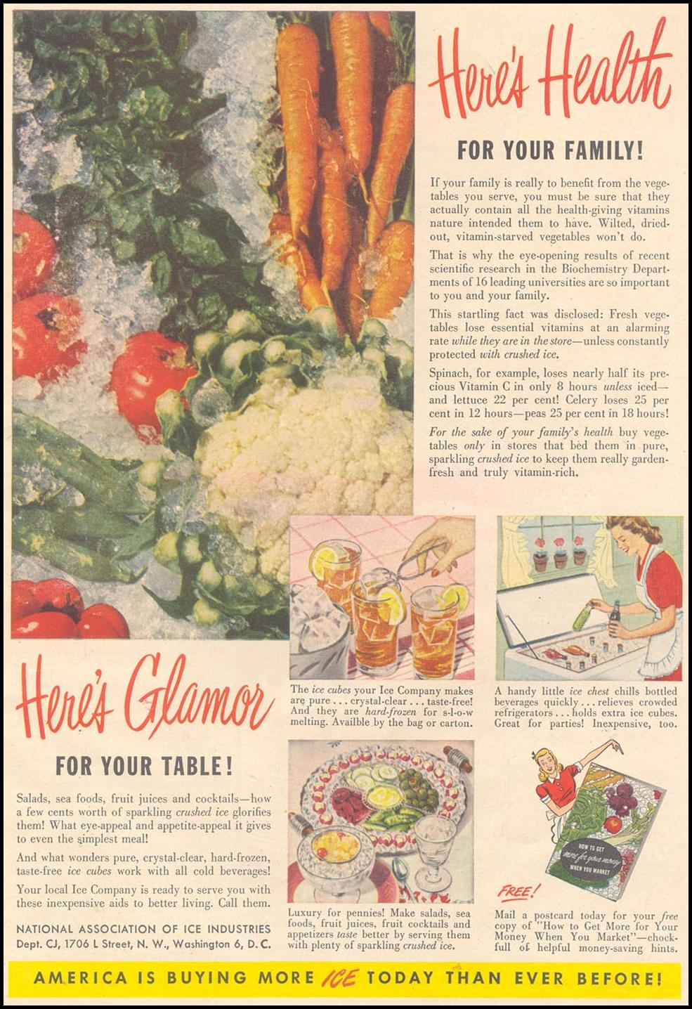CRUSHED ICE GOOD HOUSEKEEPING 07/01/1948 p. 223