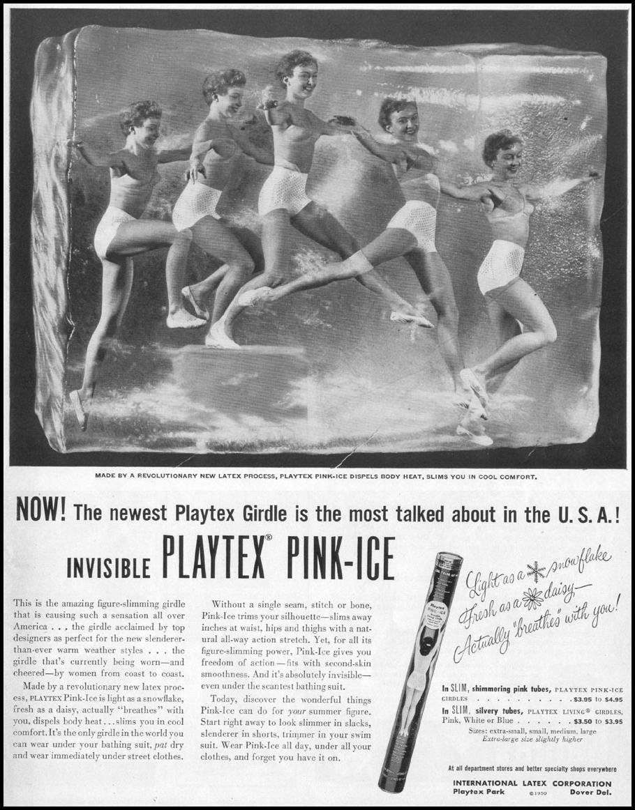 PLAYTEX PINK-ICE GIRDLE LIFE 06/05/1950 p. 9