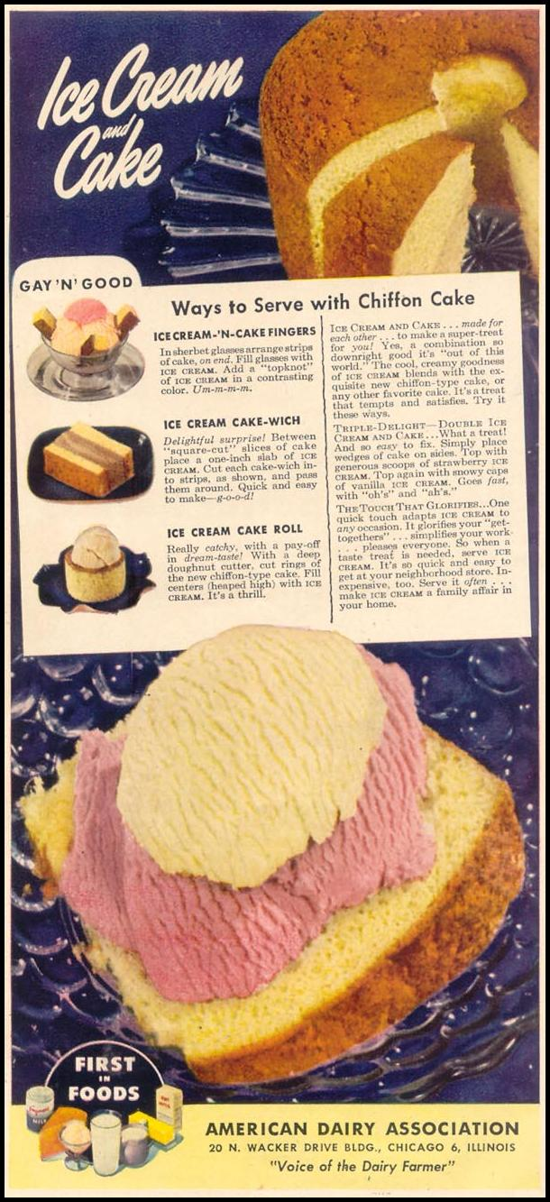 DAIRY PRODUCTS GOOD HOUSEKEEPING 07/01/1948 p. 225