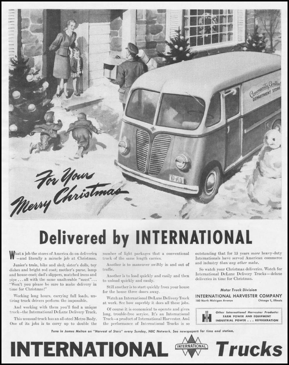 INTERNATIONAL TRUCKS LIFE 11/25/1946 p. 69