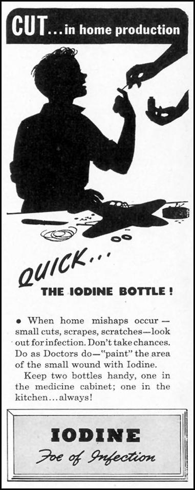 IODINE DISINFECTANT LIFE 02/28/1944 p. 8