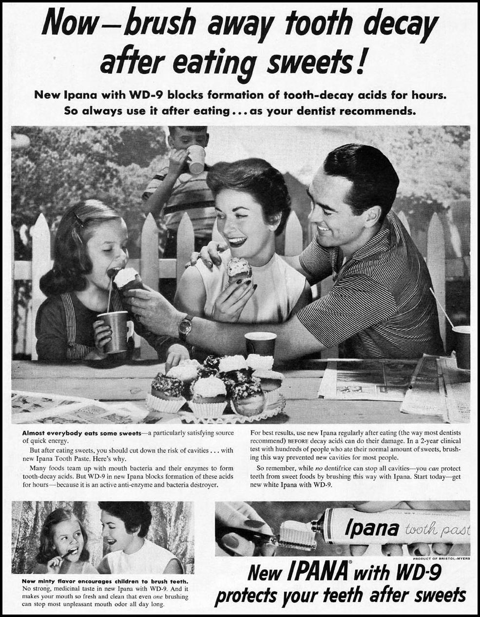 IPANA TOOTHPASTE LADIES' HOME JOURNAL 07/01/1954 p. 1