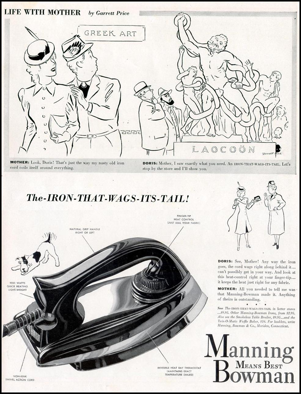 MANNING BOWMAN IRONS