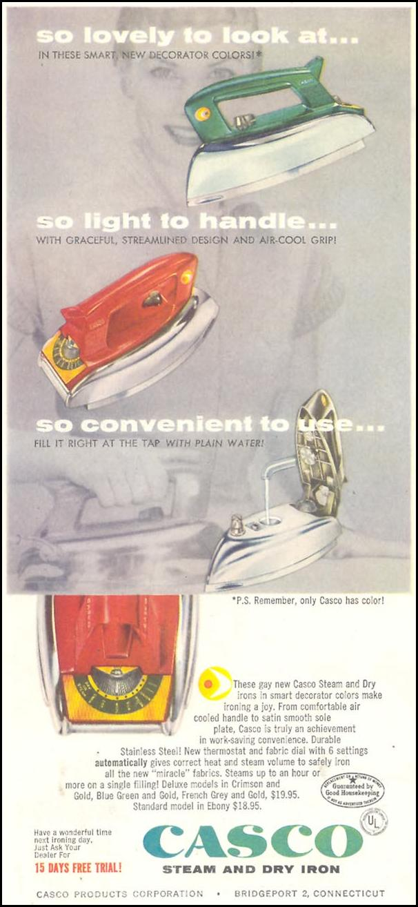 CASCO STEAM AND DRY IRON