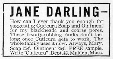 CUTICURA SOAP AND OINTMENT LIFE 10/04/1937 p. 132